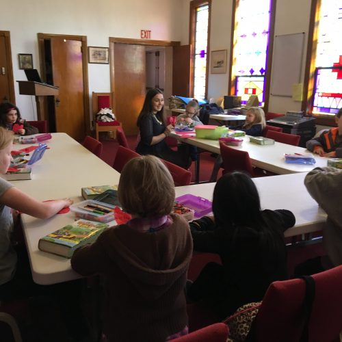 A Children's Sunday School Class
