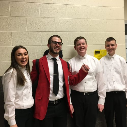 Guinston Youth Particpate in a Red Lion High School Concert