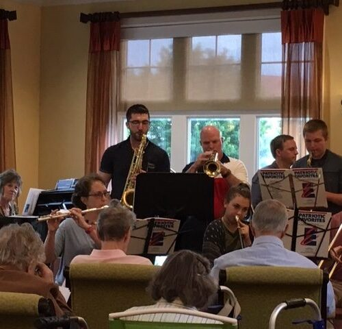 Guinston's Brass Ensemble at Country Meadows